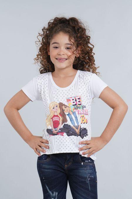 Blusa para Niña Color Blanco Ref: 033013 - Confetex - Talla: 4