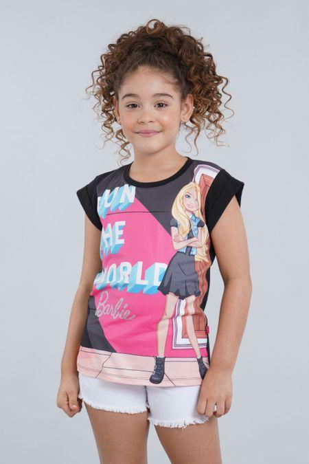 Blusa para Niña Color Negro Ref: 033019 - Confetex - Talla: 4