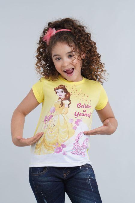 Camiseta para Niña Color Amarillo Ref: 103640 - Confetex - Talla: 4