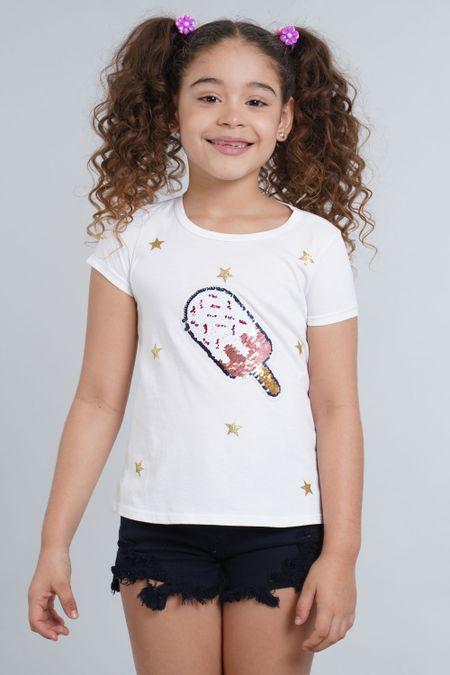 Camiseta para Niña Color Blanco Ref: 001931 - CCU - Talla: 6