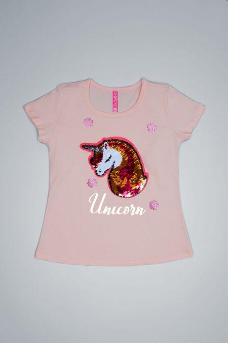 Camiseta para Niña Color Naranja Ref: 001924 - CCU - Talla: 6