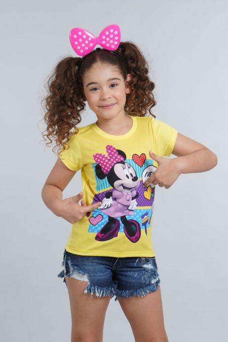 Camiseta para Niña Color Amarillo Ref: 10375-1 - Confetex - Talla: 2