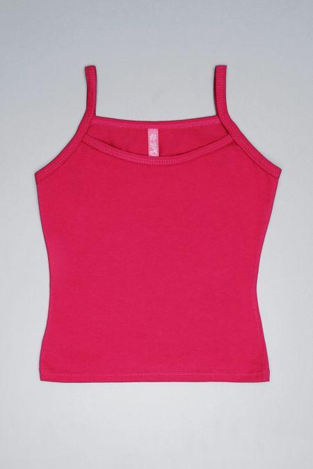 Blusa para Niña Color Fucsia Ref: 001103 - CCU - Talla: 10