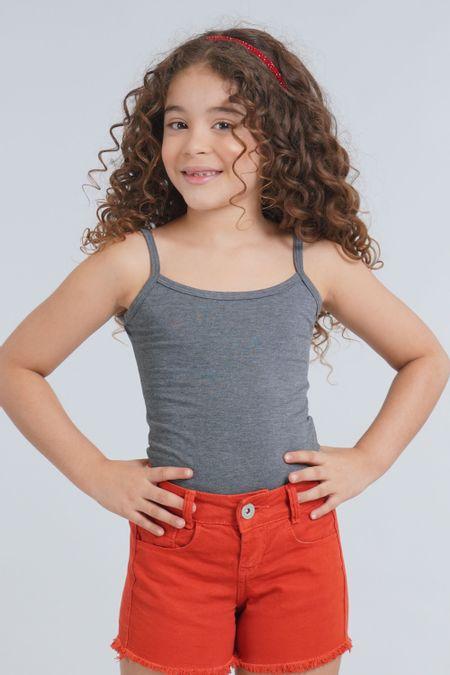 Blusa para Niña Color Gris Ref: 001103 - CCU - Talla: 10