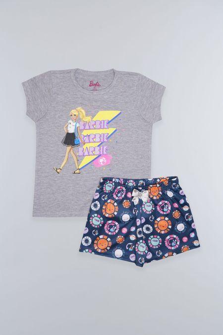 Pijama para Niña Color Gris Ref: 035006 - Confetex - Talla: 4