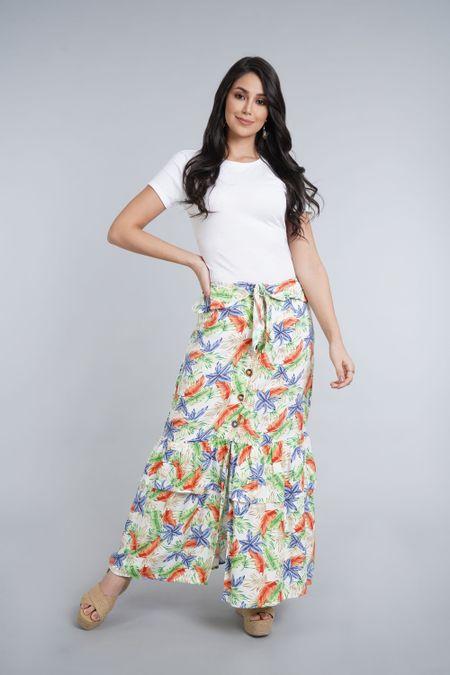 Falda para Mujer Color Blanco Ref: 029691 - CCU - Talla: XL