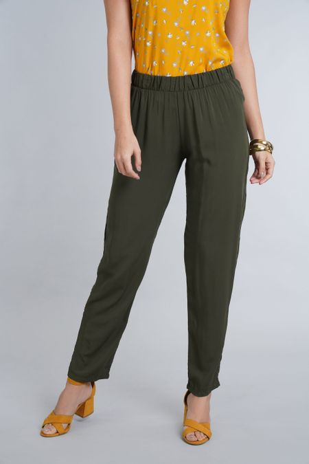 Pantalon para Mujer Color Verde Ref: 021360 - CCU - Talla: S