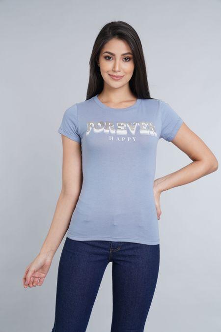 Camiseta para Mujer Color Azul Ref: 051373 - CCU - Talla: S