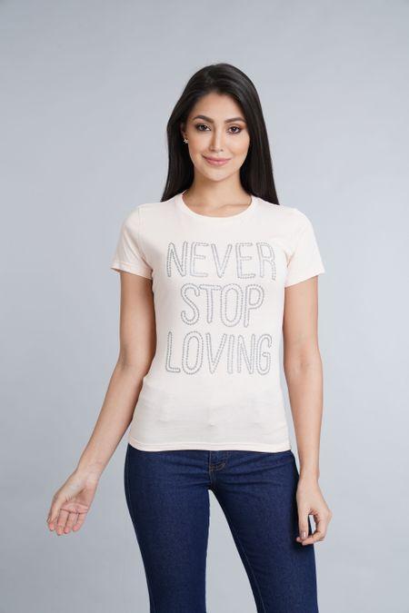 Camiseta para Mujer Color Rosado Ref: 051373 - CCU - Talla: S