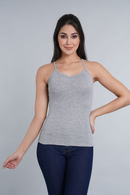 Blusa para Mujer Color Gris Ref: 000003 - CCU - Talla: S