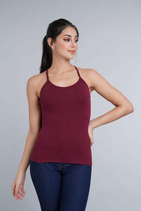 Blusa para Mujer Color Vinotinto Ref: 005017 - CCU - Talla: S