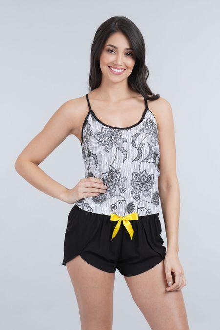 Pijama para Mujer Color Negro Ref: 011278 - CCU - Talla: S