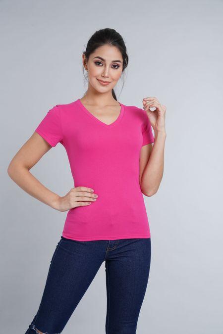 Camiseta para Mujer Color Fucsia Ref: 005138 - CCU - Talla: S