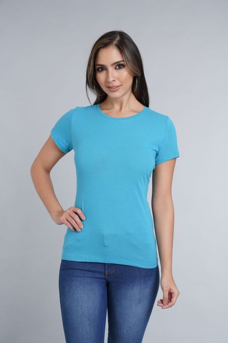 Camiseta para Mujer Color Azul Ref: 005137 - CCU - Talla: S