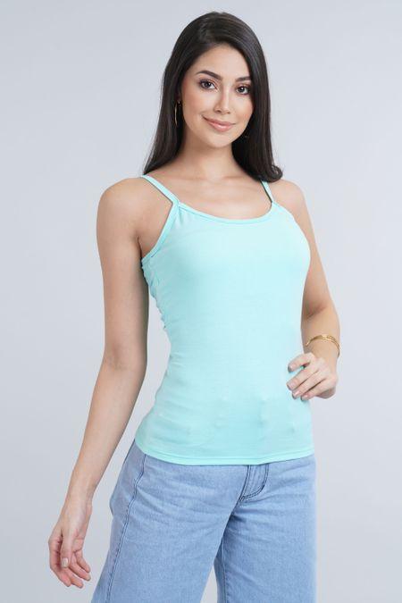 Blusa para Mujer Color Verde Ref: 005300 - CCU - Talla: S