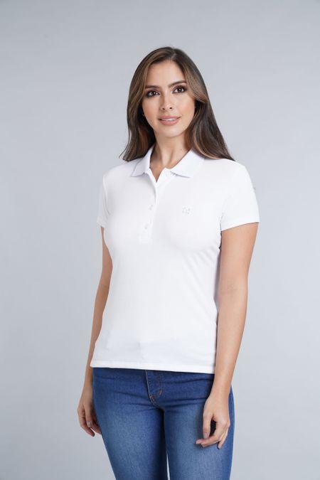 Polo para Mujer Color Blanco Ref: 007119 - E.U - Talla: M