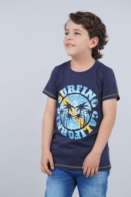 Camiseta para Niño Color Azul Ref: 030147 - CCU - Talla: 8