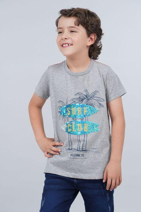 Camiseta para Niño Color Gris Ref: 030157 - CCU - Talla: 10