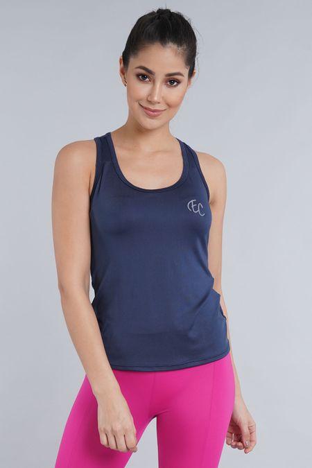 Blusa para Mujer Color Azul Ref: 002576 - CCU - Talla: S