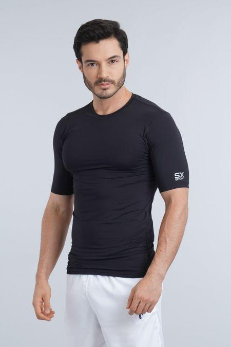 Camiseta para Hombre Color Negro Ref: 016032 - Sex - Talla: L