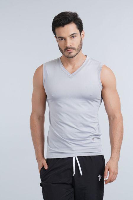 Camiseta para Hombre Color Gris Ref: 018059 - Sex - Talla: S
