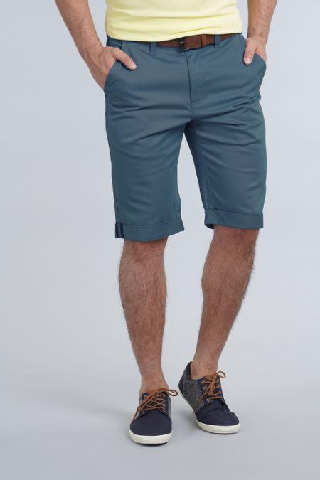 Bermuda para Hombre Color Azul Ref: 102141 - E.U - Talla: 28