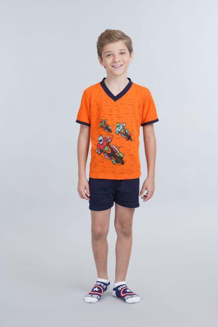 Pijama para Niño Color Naranja Ref: 001684 - Kalor - Talla: 2