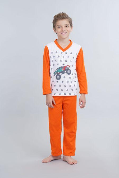 Pijama para Niño Color Blanco Ref: 001910 - Kalor - Talla: 2