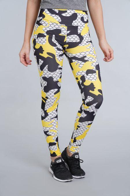 Leggin para Mujer Color Amarillo Ref: 003188 - CCU - Talla: S
