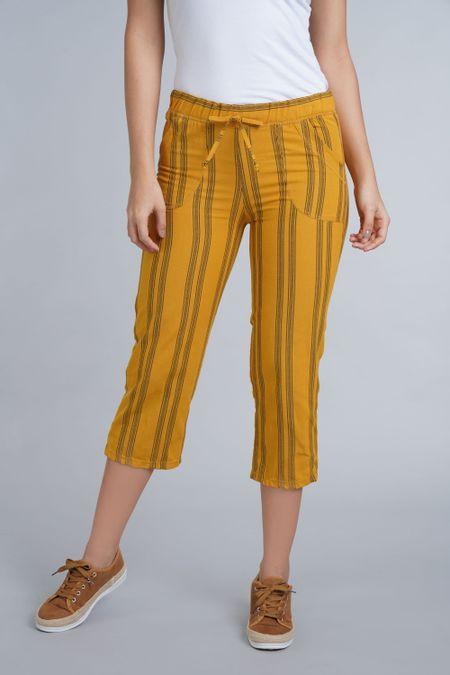 Capry para Mujer Color Amarillo Ref: 202140 - Colditex - Talla: S