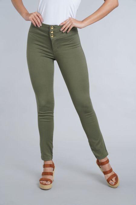 Pantalon para Mujer Color Verde Ref: 101502-2 - E.U - Talla: 8