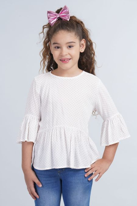 Blusa para Niña Color Rosado Ref: 001977 - CCU - Talla: 6
