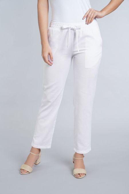 Pantalon para Mujer Color Blanco Ref: 003557 - E.U - Talla: 10