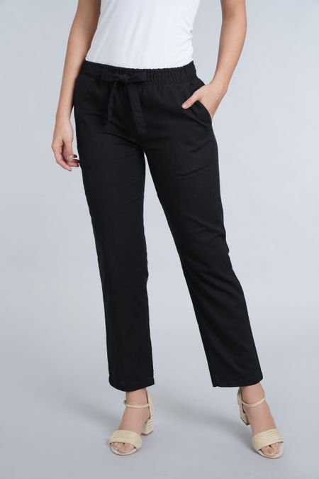 Pantalon para Mujer Color Negro Ref: 003557 - E.U - Talla: 12