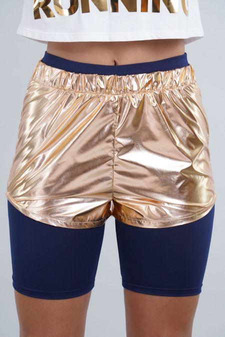 Short para Mujer Color Dorado Ref: 003505 - CCU - Talla: S