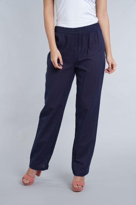 Pantalon para Mujer Color Azul Ref: 100729 - E.U - Talla: 8