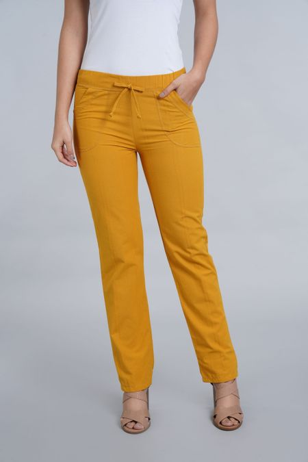 Pantalon para Mujer Color Amarillo Ref: 006140 - Colditex - Talla: S