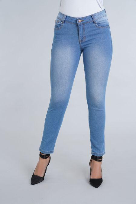 Jean para Mujer Color Azul Ref: 101566 - E.U - Talla: 6