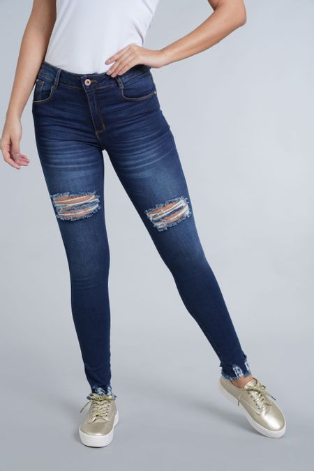 Jean para Mujer Color Azul Ref: 103176 - E.U - Talla: 6
