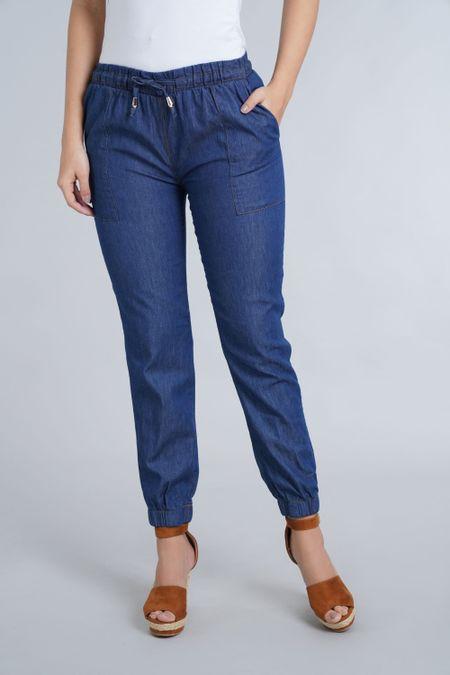 Jean para Mujer Color Azul Ref: 101097 - E.U - Talla: 8