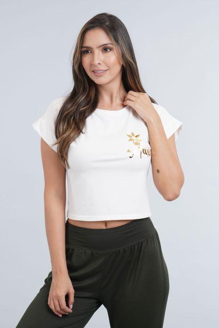 Blusa para Mujer Color Marfil Ref: 003529 - CCU - Talla: S