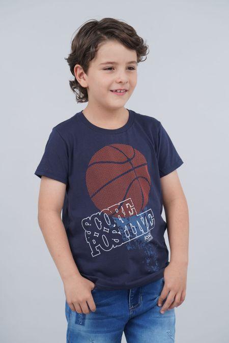Camiseta para Niño Color Azul Ref: 030149 - CCU - Talla: 8