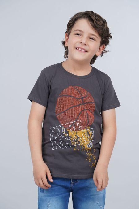 Camiseta para Niño Color Gris Ref: 030149 - CCU - Talla: 8
