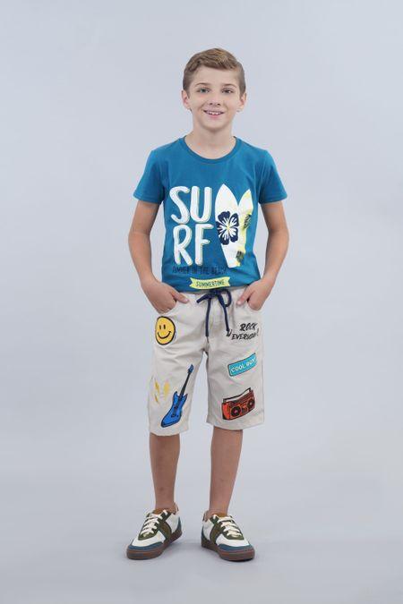 Camiseta para Niño Color Azul Ref: 030201 - CCU - Talla: 12