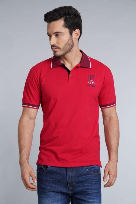 Polo para Hombre Color Rojo Ref: 002775 - Kalor - Talla: S