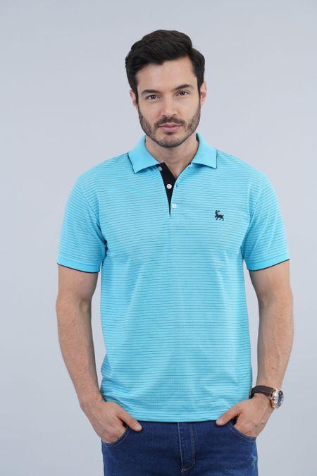 Polo para Hombre Color Azul Ref: 002095 - Kalor - Talla: S