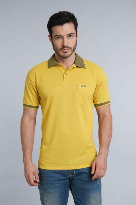 Polo para Hombre Color Amarillo Ref: 002719 - Kalor - Talla: S