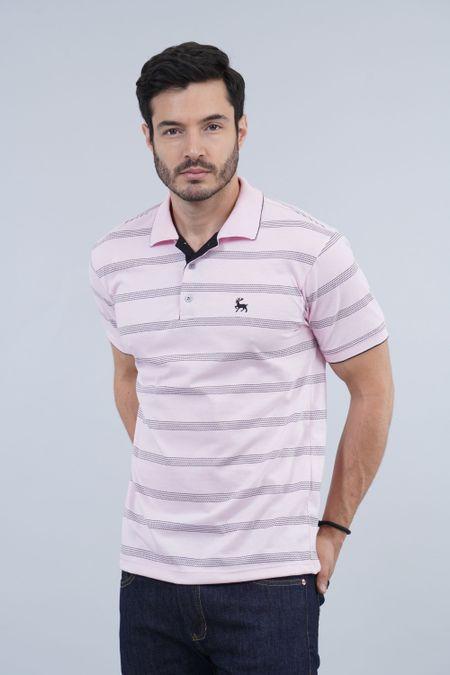Polo para Hombre Color Rosado Ref: 002691 - Kalor - Talla: S