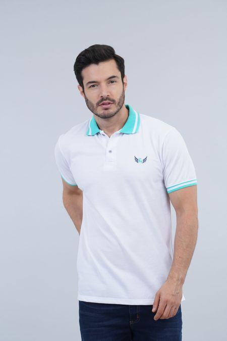 Polo para Hombre Color Blanco Ref: 002880 - Kalor - Talla: S