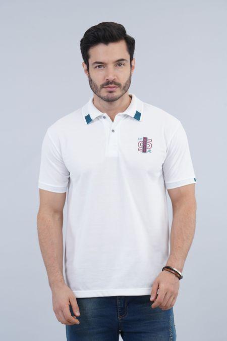 Polo para Hombre Color Blanco Ref: 002916 - Kalor - Talla: S